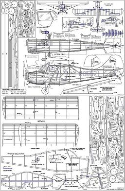 Aeronca Champ plans (free flight)